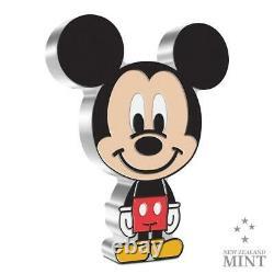 2021 Niue Chibi Coin Disney Mickey Mouse 1oz. 999 Silver Mintage 2000 Épuisé