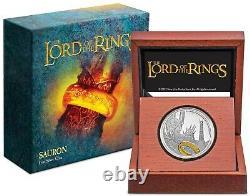 2021 Niue Seigneur Des Anneaux Sauron 1 Oz 999 Silver Proof Coin Ready To Ship