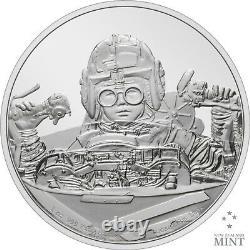 2021 Niue Star Wars Classic Anakin Skywalker 1 Oz Silver Proof Coin 10000 Fabriqué