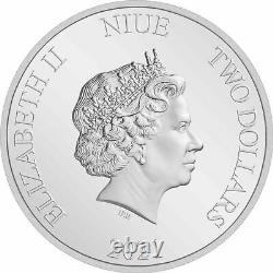 2021 Niue Winnie L'ourson & Amis 1 Oz Silver Proof Coin Ngc Pf 70 Ucam