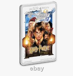 Affiche De Cinéma Harry Potter Art The Sorcerers Stone 2020 Niue Ngc Pf70 Uc