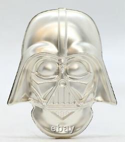 Casque Darth Vader 2019 2 Oz 999 Argent 5 $ Niue Coin Star Wars Nouvelle-zélande Jl366
