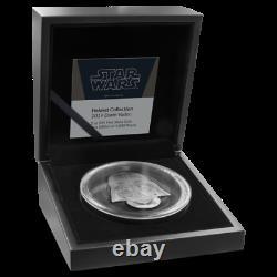 Casques Star Wars Dark Vador Casque Ultra High Relief 2oz Silver Coin