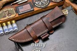 Cfk Handmade D2 Sur Mesure Nouvelle-zélande Red Stag Rosewood Hunting Skinner Couteau