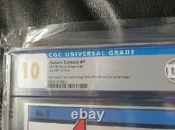 Cgc 10 DC Action Comics #1 Superman Gem Mint Silver Foil Limited Edition