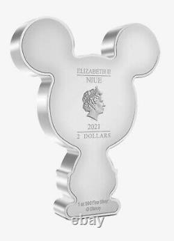 Chibi Coin Collection Disney Series Mickey Mouse 1oz Pièce D'argent
