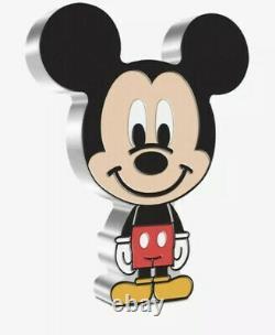 Chibi Coin Collection Disney Series Mickey Mouse 1oz Silver Coin Pre Commande