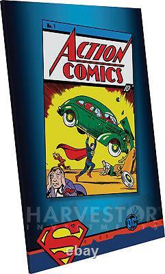 DC Comics Action Comics 2018 #1 Premium Silver Foil 35 Grammes D'argent Massif
