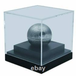 Death Star Star Wars Première Mondiale 1 Kilo 100 $ Argent Pur Sphérique C