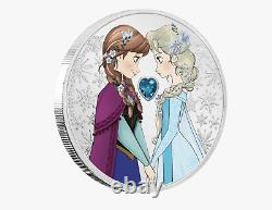 Disney Princess Frozen Sisters Forever 2020 Niue 1oz Argent Coin Ngc Pf70