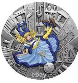 Îles Nioué 2021 1 Dollars 1 Oz Silver Fairy Tales (1.) Blue Fairy Tale Antiq