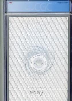 Le Seigneur Des Rings Middle Earth 35g Premium Silver Foi Cgc Certified 9,8 Fr
