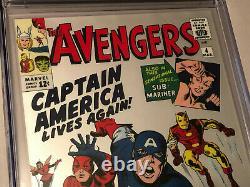 Marvel Avengers #4 (2019) 1 Oz Pure Silver Foil Scottsdale Mint Replica Cgc 10