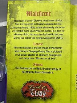 Niue -2018- 1 Pièce De Preuve En Argent Oz- Disney Villains Maléfique #7/10000