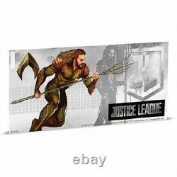 Niue -2018- 5 X 5 Gram Argent $1 Note Justice League Série Pièce/notes