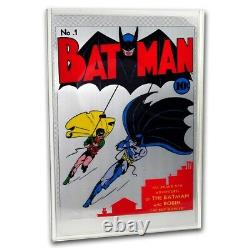 Niue -2018- Batman #1 35g Pure Silver Foil