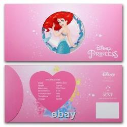 Niue- 2018 Silver Disney Princess Six Silver Note Set (avecalbum)