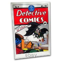 Niue- 2018 Silver Foil 35 Grammes Pure Silver- DC Comics Detective Comics #27