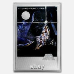 Niue- 2018- Star Wars A New Hope Premium 35 Grammes Silver Foil