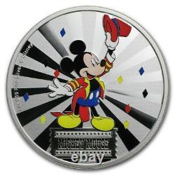 Niue 2019 -1 Pièce De Preuve En Argent Oz- Disney Mickey Mouse Mickey