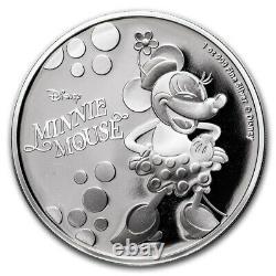 Niue 2019 1 Pièce De Preuve En Argent Oz- Disney Minnie Mouse