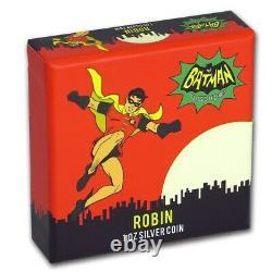 Niue 2020 1 Oz Pièce De Preuve En Argent Batman 66 Robin