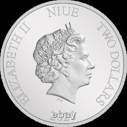 Niue 2020 $2 Harry Potter Classic 1 Oz. 999 Silver Proof Coin Ngc Pf 70 Ucam
