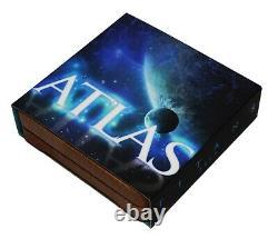 Niue 2020 Titans Atlas Glow In The Dark $2 Pièce D'argent 2 Oz