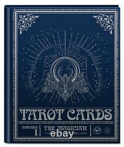 Niue 2021 1 Oz Pièce De Preuve En Argent- Cartes De Tarot Le Magicien