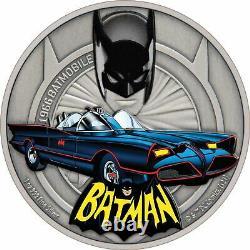 Niue 2021 1 Oz Silver Proof Coin- 1966 Batmobile