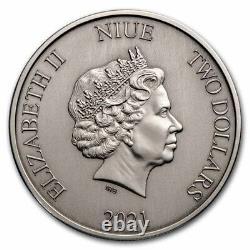 Niue 2021 1 Oz Silver Proof Coin- DC Comics 1989 Batmobile Coin