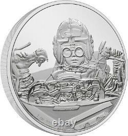 Niue 2021 1 Oz Silver Proof Coin Star Wars Classic Anakin Skywalker