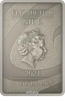 Niue -2021- 1 Oz Silver Proof- Nightmare Avant Noël Oogie Boogie