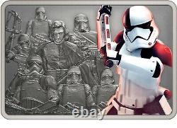 Niue 2021 1 Oz Silver Proof Star Wars Gardiens Exécuteur Trooper