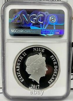Niue Star Wars Darth Vader Proof Uhr 2 Oz 999 Silver Coin Ngc Pf 70 Ucam