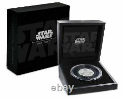 Niue Star Wars Han Solo Carbonite Ultra High Relief 2 Oz 999 Silver Coin 2017