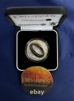 Nouvelle-zélande 2003 Silver Proof Coin- Lord Of The Rings Coin