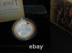 Nouvelle-zélande- 2012 1 Oz Silver Proof Coin- Hobbit Coin Bilbo Baggins