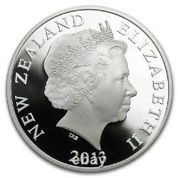 Nouvelle-zélande 2013 1 Oz Silver Proof Coin Maori Art Koru