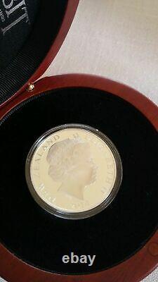 Nouvelle-zélande- 2014 1 Oz Silver Proof Coin- Hobbit Coin Bag End