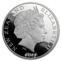 Nouvelle-zélande 2016 1 Oz Silver Proof Coin Rio De Janeiro Olympics