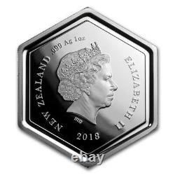 Nouvelle-zélande 2018 1 Oz Silver Proof Coin- Manuka Honey Bee