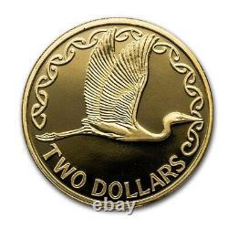 Nouvelle-zélande -2020- Proof Currency Set- Chatham Island Crested Penguin