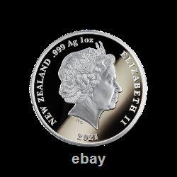 Nouvelle-zélande- 2021 Silver Proof Coin Set Whanau Marama Famille De Lumières