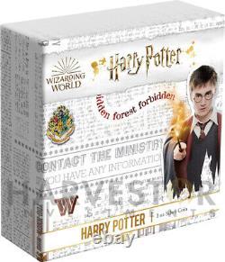 Potter Harry 2020 1 Oz. Silver Coin Classic Ngc Pf70 Premières Libérations Avec Objectifs