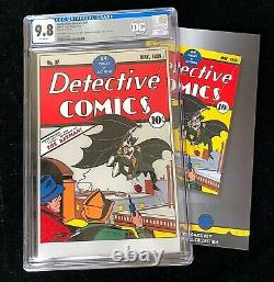 Première Sortie 2018 DC Detective Comics #27 Cgc 9.8 Mint Silver Foil Batman