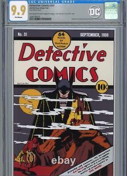 Première Sortie 2019 DC Detective Comics #31 Silver Foil Cgc 9.9 Mint Batman