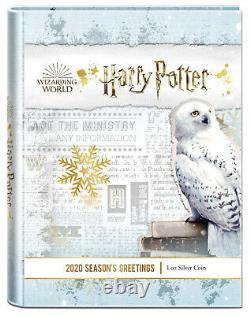 Saisons Harry Potter Grandes Pièces D'argent Niue 1oz 2020