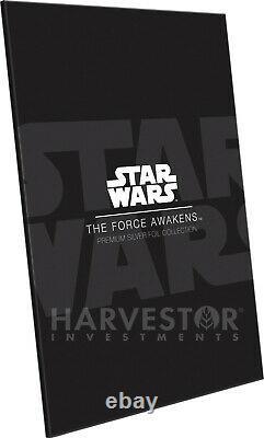 Star Wars La Force S'éveille Prime Silver Foil Cgc 10 Gem Mint First Rele