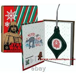 Star Wars Noël Stormtroopers 1 Oz Pièce D'argent Niue 2020